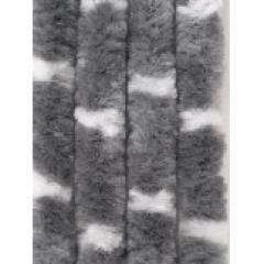 Függöny (macskafarok) szürke / fehér