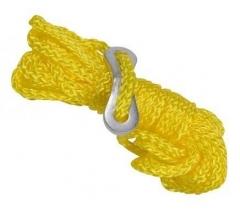 4 darabos sárga zsínor készlet